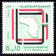 CI1387 - LIBIA LYBIA 1970 , Yvert  N. 380  *** - Libia
