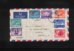 Singapore 1960 Interesting Airmail Letter - Singapur (1959-...)