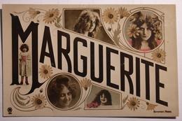 """Cpa Couleur Fantaisie Prénom """"Marguerite"""" - TOR08 - Portraits"""