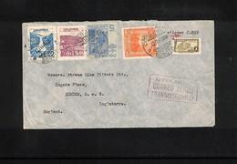 Colombia 1947 Interesting Airmail Letter - Kolumbien