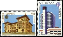 España 3058/3059 ** Europa. 1990 - 1981-90 Unused Stamps