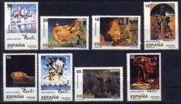España 3289/3296 ** Pintura. Dalí. 1994 - 1931-Aujourd'hui: II. République - ....Juan Carlos I