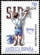 España 3767 ** UPAEP. Sida. 2000 - 1991-00 Neufs