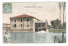 """CHARMONTOIS Le ROY  51  Le Moulin """" Colorisé """"1906 - Sonstige Gemeinden"""
