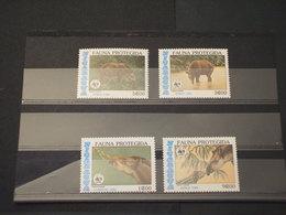 NICARAGUA - 1985 WWF FAUNA  4 VALORI -  - NUOVI(++) - Nicaragua