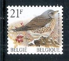 BELGIE * Buzin Rolzegel * Nr R 87 * Postfris Xx * WIT  PAPIER - Coil Stamps