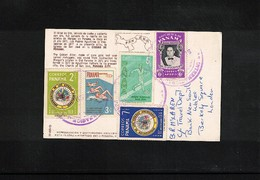 Panama 1960 Interesting Postcard - Panama