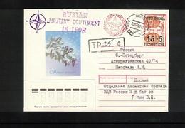 Bosnia And Herzegowina 1996 Russian IFOR Contigent Interesting Letter - Bosnien-Herzegowina