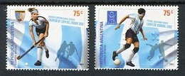 DEPORTES, FUTBOL, HOCKEY. ARGENTINA AÑO 2003, GOTTIG JALIL GJ 3282 - 3283 MNH NUEVO - LILHU - Unused Stamps