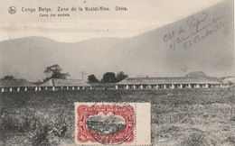 Congo Belge 1915 - Oblitération Postes Militaires Belgique Sur CP Uvira (Katanga) - Voir 2 Scans - Congo Belge