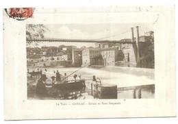 Gaillac Pécheur Ecluse Et Pont Suspendu - Gaillac
