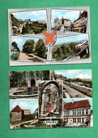 52 Haute Marne Langres Lot De 2 Cartes Postales Multivues - Langres