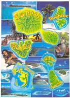 ** Lot De 10 Cartes ** POLYNESIE FRANCAISE - TAHITI :  Différentes Iles - CPM CPSM Grand Format - Océanie - Polynésie Française