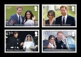 BAT 2018 Mih. 776/79 Royal Wedding. Prince Harry And Meghan Markle MNH ** - Territoire Antarctique Britannique  (BAT)