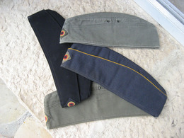 LOT DE 04 CALOTS ALLEMANDS (A PRIORI) POST WW2 - Headpieces, Headdresses