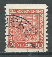 Tchécoslovaquie YT N°254a Oblitéré ° - Oblitérés