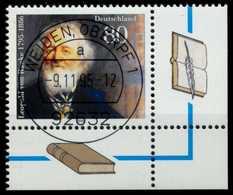 BRD 1995 Nr 1826 Zentrisch Gestempelt ECKE-URE X767AA2 - BRD