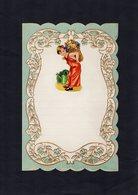 VP15.081 - Lettre Vierge Papier Gaufré Double Page Avec Découpi Enfant - Enfants