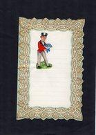 VP15.086 - Lettre Vierge Papier Gaufré Double Page Avec Découpi Enfant - Enfants