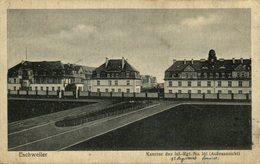 "ESCHWEILER "" Kaserne Des Inf.-Rgt. No.161 ."" (Aubenansicht ) België Legerpost - Poste Militaires - Alemania"