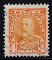 Canada 1935 King George V 4c Used  SG 344 - 1911-1935 Reign Of George V