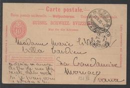SUISSE - RENENS /1908 ENTIER POSTAL POUR MONACO (ref 3957) - Interi Postali