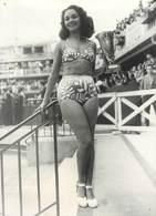 """PHOTO ORIGINALE / THEME """"Prix De La Plus Belle Baigneuse 1947"""" - Photographs"""