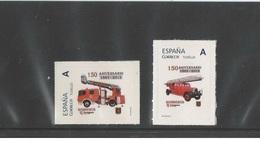 Spain 2015- 150 Years Firefighters Of Zaragoza Stamp Set Tu Sello Mnh - 1931-Hoy: 2ª República - ... Juan Carlos I