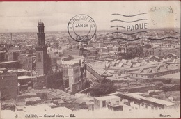 Egypte Egypt Old Cairo Le Caire General View 1923 Vue Generale Islamic Architecture - El Cairo