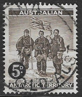 Australian Antarctic Territory SG2 1959 Definitive 5d Definitive Good Used [1/0381/6D] - Australian Antarctic Territory (AAT)