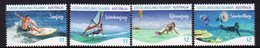 COCOS Is, 2019 WATER SPORTS 4 MNH - Isole Cocos (Keeling)