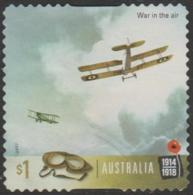 AUSTRALIA - DIE-CUT-USED 2017 $1.00 Centenary Of World War I 1917: The Australian Flying Corps - Aircraft - 2010-... Elizabeth II