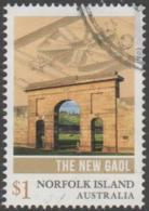 NORFOLK ISLAND-USED 2017 $1.00 Norfolk Island Convict Heritage - The New Gaol - Norfolk Island