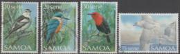 SAMOA-USED 1988 Four Birds From Set - Samoa