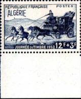 Algérie Poste N** Yv:294 Mi:305 Journée Du Timbre Malle-poste Bord De Feuille - Algeria (1924-1962)