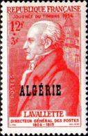 Algérie Poste N** Yv:308 Mi:320 Journée Du Timbre Lavalette - Algeria (1924-1962)
