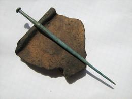 Ancient Rome Bronze Artifact 2-4 Centuries - Archaeology