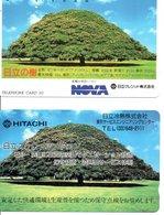 2 Télécartes Japon Japan Arbre Arbres Tree Forêt  Paysage (D 556) - Paysages