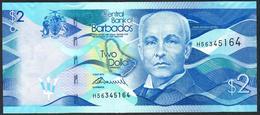 Barbados 2 Dollars 2013 UNC-aUNC - Barbados