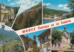 Cp , 39 , MOREZ, Capitale De La Lunette , Multi-Vues - Morez