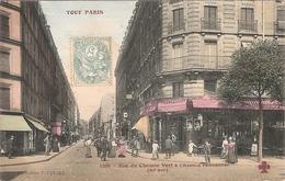 CPA Tout Paris Rue Du Chemin Vert à L'Avenue Parmentier 75 Paris 11 Arrondissement - District 11