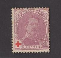 BELGIO !!! 1914 CROCE ROSSA !!! - 1914-1915 Croce Rossa