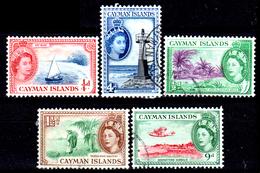 Cayman-051 - Emissione 1953-59 (+/o) LH - Senza Difetti Occulti. - Cayman (Isole)