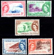 Cayman-052 - Emissione 1953-59 (+/o) LH - Senza Difetti Occulti. - Cayman (Isole)