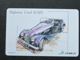 JAPAN HIGHWAY PREPAIDCARD - CAR MORGAN 414 - Giappone