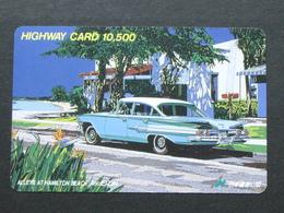 JAPAN HIGHWAY PREPAIDCARD - CAR - Giappone