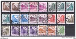 CINA:  1965/66  DEFINITIVA  -  LOTTO  23  VAL. US. -  YV/TELL. 1639/48 - 1949 - ... Repubblica Popolare