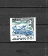 Olympische Spelen  1992 , Monaco  Postfris - Hiver 1992: Albertville