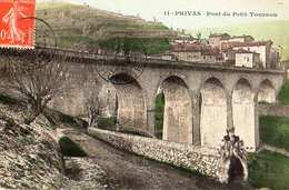 07- PRIVAS - PONT DU PETIT TOURNON - Privas