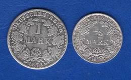 All  Mark  1873 A  + 1/2  Mark  1915 A - 1 Mark
